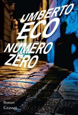 Couverture <i>Numéro Zéro</i>.