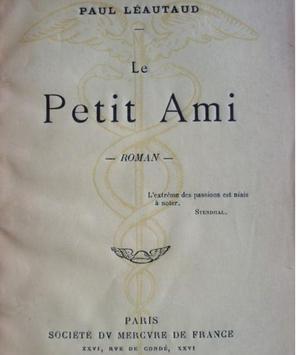 Le Petit Ami de Paul Léautaud publié en 1903.