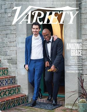 Une du Variety, mettant en scène Damien Chazelle et Barry Jenkins