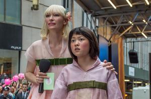 Tilda Swinton et An Seo Hyun dans «Okja».