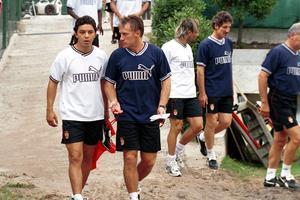Le centre d'entraînement de la Turbie en 2001
