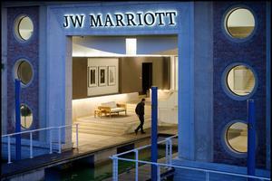 JW Marriott Venice Resort sur l'île des Roses.