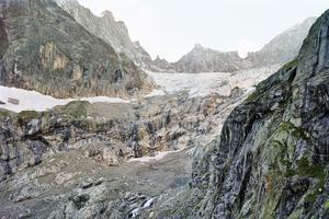 Glacier de Triolet, versant italien (Aurore Bagarry)
