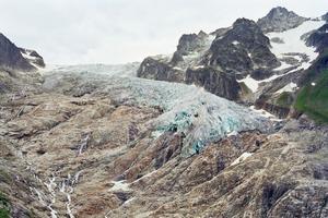 Glacier du Trient, versant suisse (Aurore Bagarry)