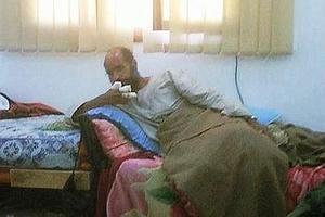 Saïf al-Islam le 19 novembre 2011, peu après son arrestation. (Crédits photo: Reuters TV/Reuters)