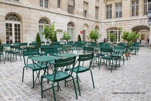 Café Cour (Crédit: Marie-Anne Stourm).