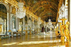 La galerie des Glace à Versailles.