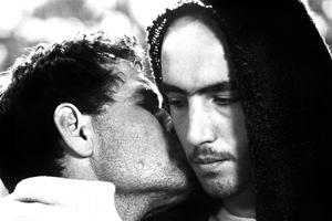 L'Evangile selon Saint Matthieu de Pasolini avec Enrique Irazoqui et Otello Sestili, 1964.
