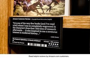 la plupart des ouvrages sont accompagnés de commentaires de lecteurs.