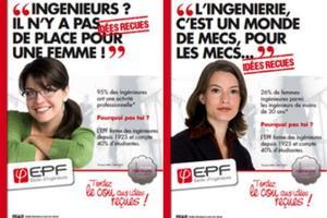 Campagne de recrutement de l'Ecole d'ingérnieur.e.s EPF.
