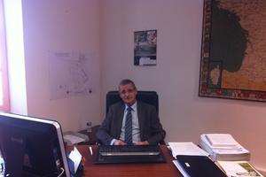 Roger Litaudon, le maire (divers-droite) de la ville. EUGENIE BASTIE/LE FIGARO