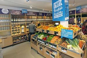 Pas d'emballage dans le magasin Biocoop situé dans le Xe arrondissement parisien