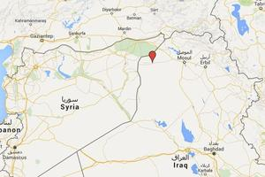 Martin se trouvait sur le front kurde à Sinjar, non loin de Mossoul.