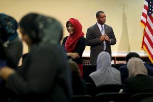 Membres de la Société islamique de Baltimore.