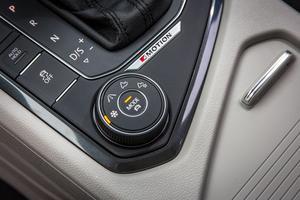 Le bouton rotatif autorisant quatre modes de conduite.