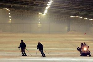 Piste de ski intérieure d'Amnéville.