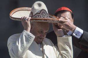 Le pape François devrait célébrer une messe dans la basilique Notre-Dame de Guadalupe, sainte patronne du pays.
