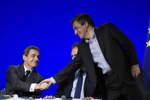 Nicolas Sarkozy et François Fillon, samedi.