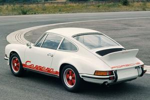 La 2,7 Carrera RS de 1972 est l'une des 911 parmi les plus convoitées.