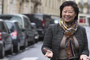 Jeanne d'Hauteserre, maire du VIIIe arrondissement de Paris