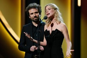 Mélanie Laurent et Cyril Dion