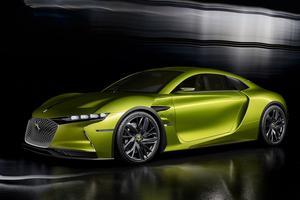 DS espère électriser le salon avec le prototype E-Tense à propulsion électrique.