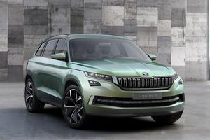 L'étude VisionS annonce à 80% le futur grand SUV de Skoda.