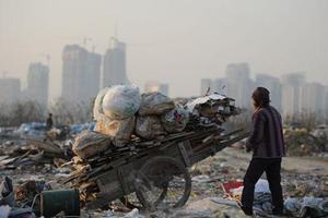 En 2014, 82 millions de Chinois vivaient sous le seuil de pauvreté, selon Pékin. Crédits Photo: STR / AFP