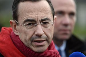 Bruno Retailleau, président du groupe Les Républicains au Sénat (photo AFP).