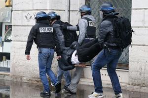 Trois interpellations ont eu lieu à Lyon.