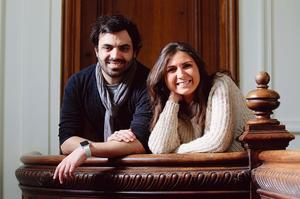 Maud Arditti et Olivier Levy.