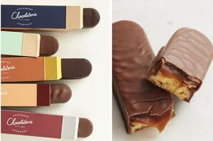Les barres chocolatées de Cyril Lignac.