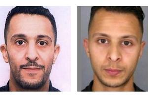 À gauche, Brahim Adeslam, l'aîné. À droite, Salah, le cadet.