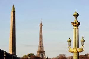 Place de la Concorde, gros plan sur l