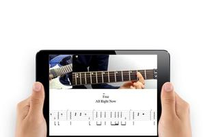 An  application to learn & # xE0; play guitar