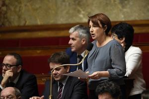 Isabelle Attard, députée du Calvados, qui a quitté EELV en décembre 2013.