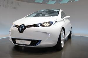 La Renault Zoé, voiture française 100% électrique