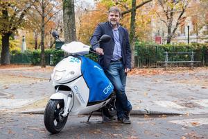 Bertrand Fleurose. « <i>Cityscoot est à la pointe des systèmes d'autopartage</i>».
