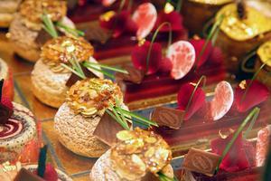 Des pâtisseries colorées et délicates typiques de Russie.