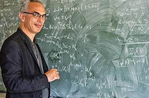 Emmanuel Ullmo, mathématicien francais et directeur de l'IHES, L'Institut des Hautes Etudes Scientifiques