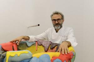 Le chef italien Massimo Bottura.