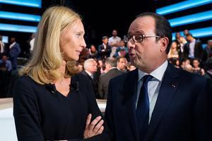 Un face-à-face mémorable entre Karine Charbonnier et François Hollande, le 6 novembre 2014 sur TF1.