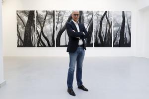 Éric Dereumaux dans sa nouvelle Galerie RX (IIIe).