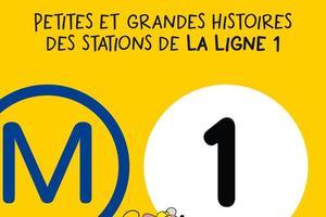 La couverture du guide consacré à la ligne 1. Éditions bonhomme de chemin.