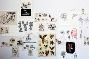 Motifs de tatouage par Scott Campbell.
