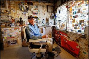Angel Delgadillo, fondateur de l'association de la Route 66 en Arizona. ©Eric Martin pour le Figaro Magazine.