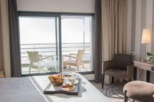 L'Atlantic Hotel Spa et sa vue imprenable sur l'océan.