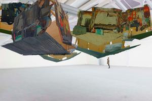 Pascale-Marthine Tayou, Falling Houses, 2014