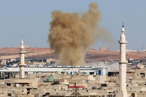 Bombardements sur les quartiers rebelles de la ville