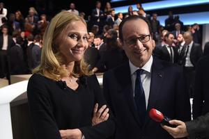 Karine Charbonnier, le 6 novembre 2014 lors de l'émission «En direct avec les Français».